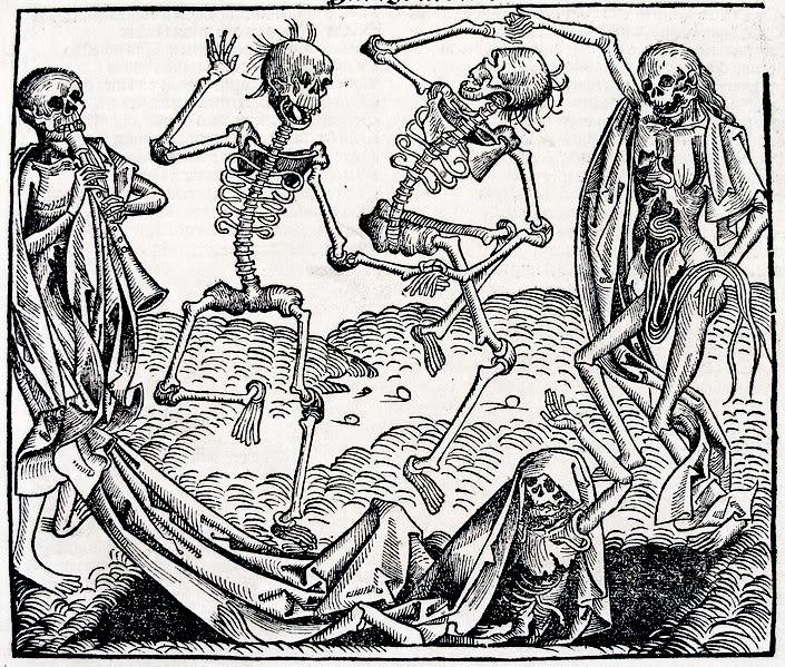 Danse macabre, 1493