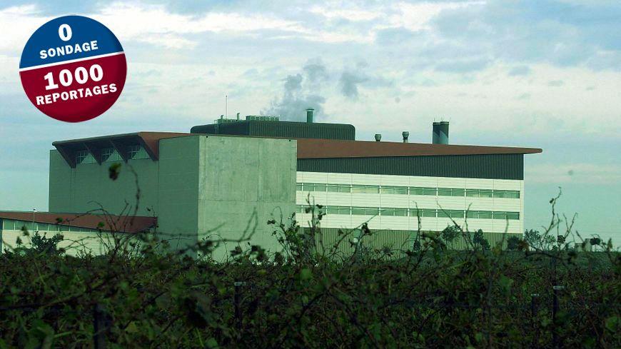 L'incinérateur de Lunel Viel traite 120.000 tonnes de déchets par an.