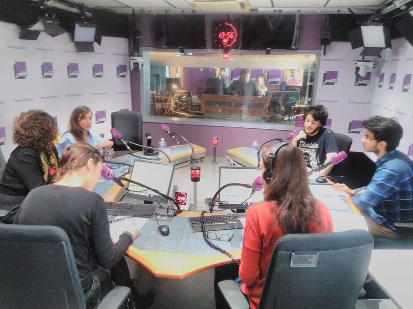 Zeina Abirached, Anaïs Volpé, Marwane et Satyam