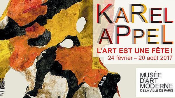 Karel Appel au Musée d'Art Moderne de la Ville de Paris