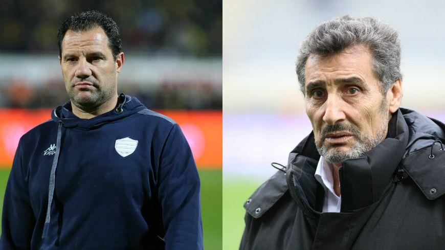Laurent Labit (à gauche) et Mohed Altrad (à droite) © Maxppp -