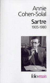 Couverture de Sartre (1905-1980) - Annie Cohen-Solal - éditions Gallimard