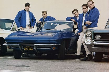 The Beach Boys en novembre 1963