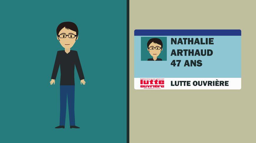 Nathalie Arthaud se présente pour la deuxième fois à la Présidentielle