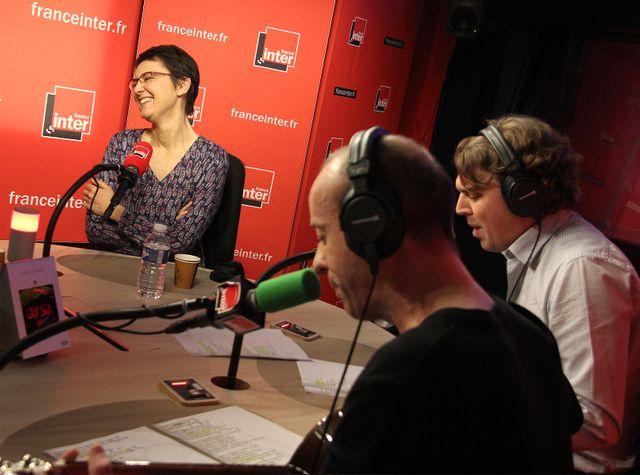 Nathalie Arthaud, Frédéric Fromet et Alex VIzorek