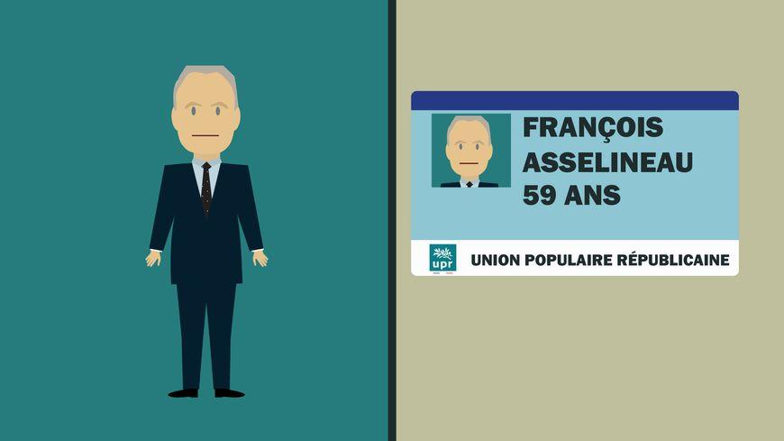 """François Asselineau est partisan du """"Frexit"""", la sortie de l'Union européenne"""