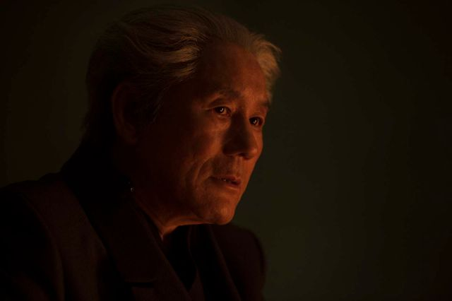 """Takeshi Kitano dans """"Ghost in the Shell"""" (2017)"""