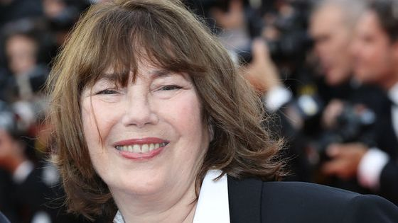 Jane Birkin le 11 mai 2016 pour la cérémonie d'ouverture du 69e Festival de Cannes à Cannes