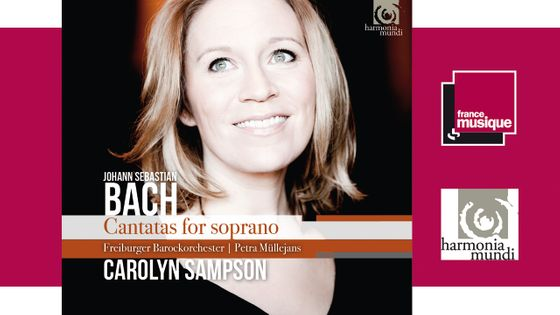 Bach - Cantatas for soprano par Carolyn Sampson