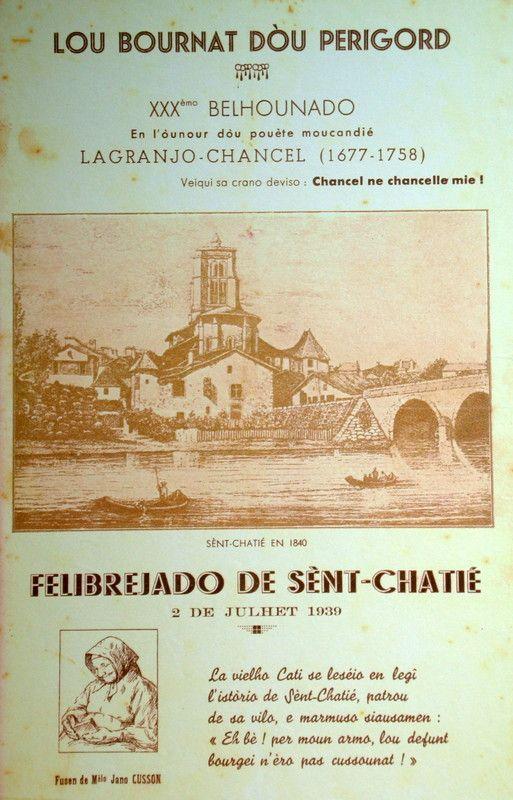 L'affiche de l'édition de 1939