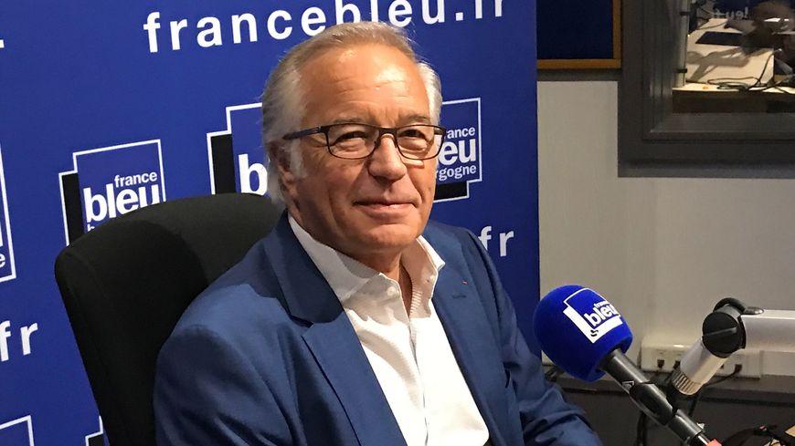 François Rebsamen le maire de Dijon invité de France Bleu Bourgogne