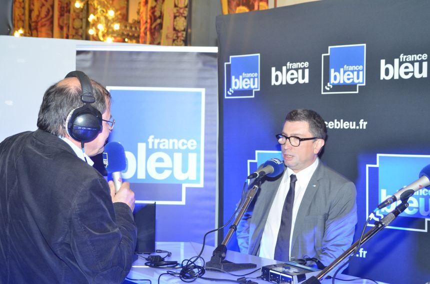 """Jean Michel Mis représentant du mouvement """"En Marche"""" dans la Loire"""