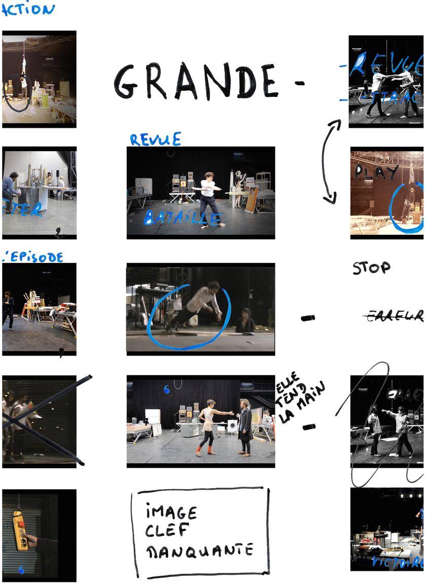 Storyboard de Grande - / Vimala Pons & Tsirihaka Harrivel