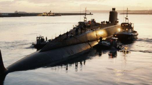 Le sous-marin le Redoutable, qui fête ses 50 ans cette année