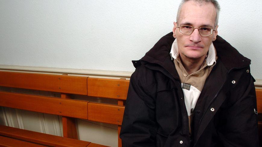 Francis Heaulme en novembre 2004, alors témoin dans un autre procès, l'affaire Haderer.