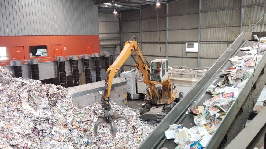 41.000 tonnes de déchets sont triées chaque année à Valorpôle