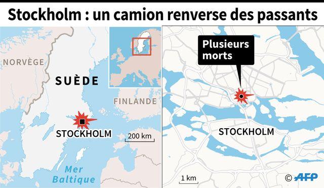 L'attaque s'est produite dans le centre de Stockholm.