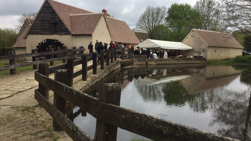 Le Moulin d'Angibault.