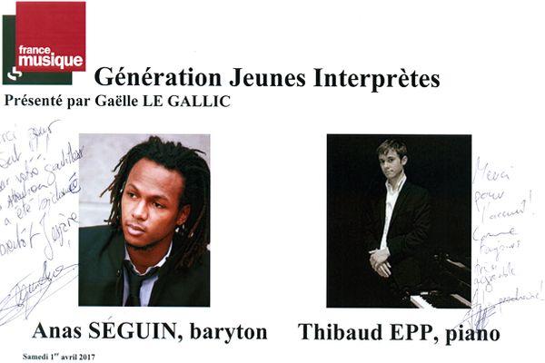 Livre d'Or Anas Séguin/Thibaud Epp