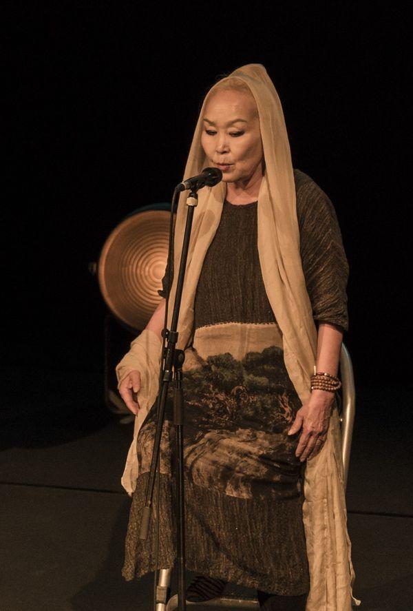 Sainkho Namtchylak au festival Détours de Babel 2017
