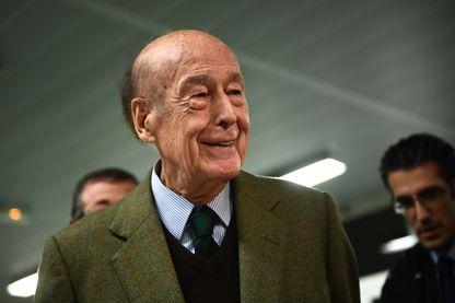 Valéry Giscard d'Estaing en novembre 2016