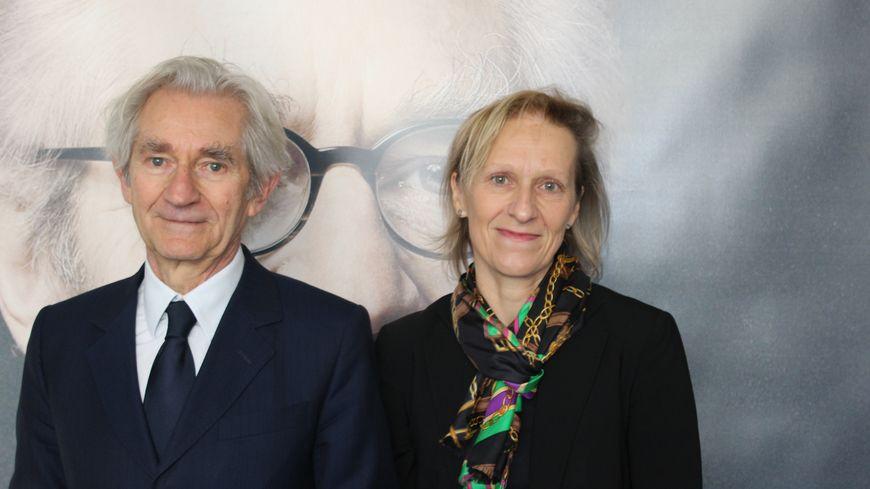 Jean Paul Chanteguet et sa suppléante Pascaline Courthes