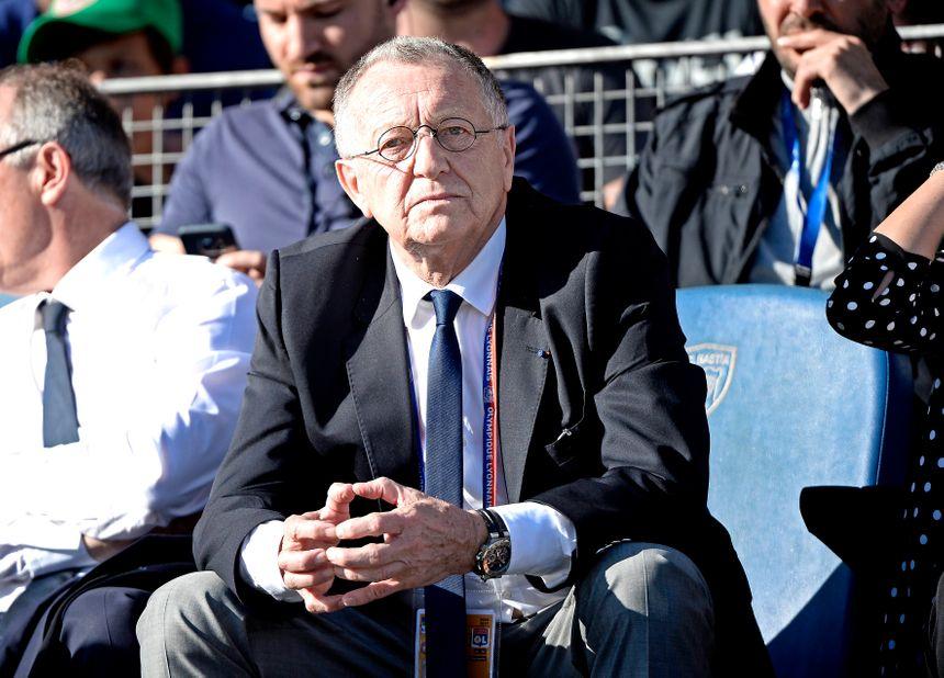 Jean-Michel Aulas, président de l'Olympique de Lyon