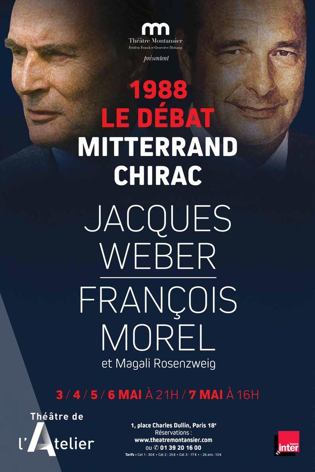 1988 Le débat MITTERRAND CHIRAC