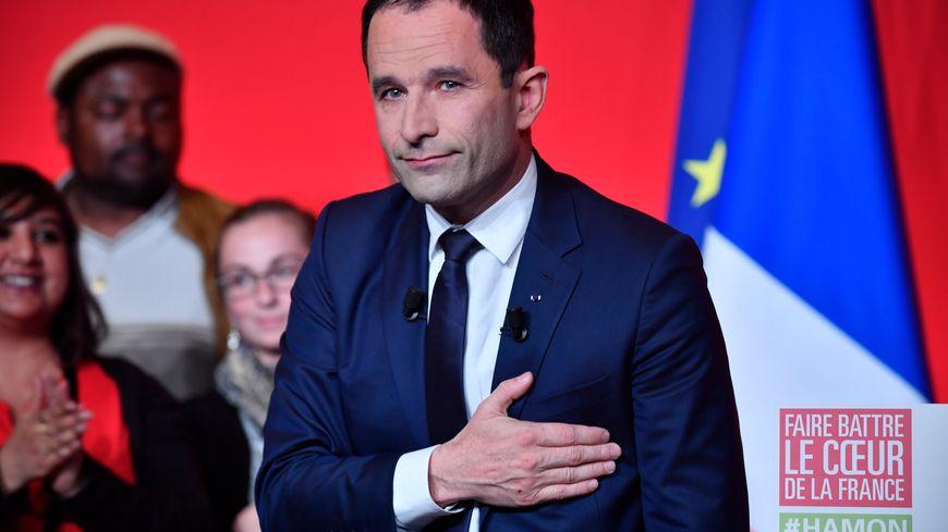 Benoît Hamon, éliminé au premier tour de la présidentielle avec 6,3% des suffrages