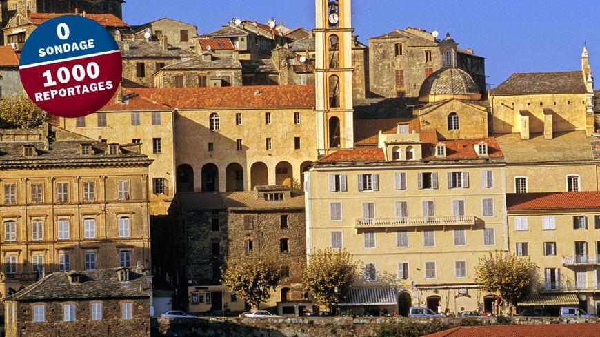Le village de Cervioni en Haute-Corse