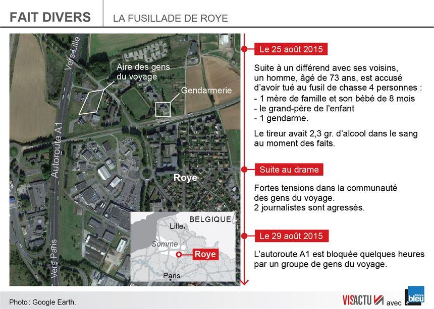 La fusillade éclate en pleine journée vers 16h30 et se termine dans un bain de sang : 4 morts.