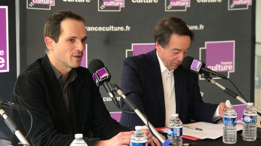 Le philosophe Michael Foessel et l'historien Jean-Noël Jeanneney