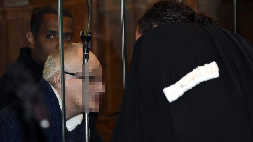 Francis Heaulme à l'ouverture de son procès à Metz, mardi 25 avril 2017.