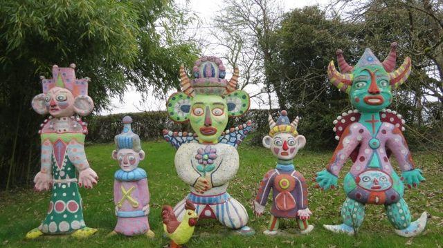 Ghislaine Vetter fait vivre le centre d'art du Tremblay depuis la mort de son mari sculpteur, en 2007