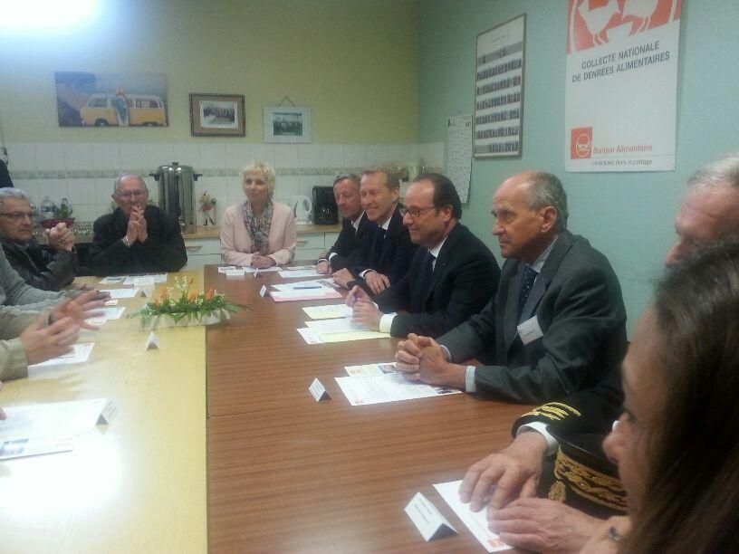 Table ronde avec les bénévoles de la Banque Alimentaire