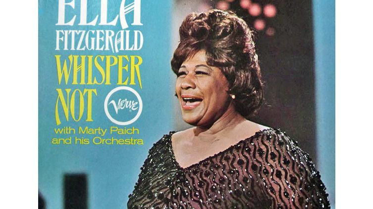 Ella Fitzgerald Whisper not with Marty Paich orchestra (Verve V6-4071)