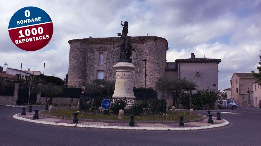 Le château de Montcalm à Vestric-et-Candiac