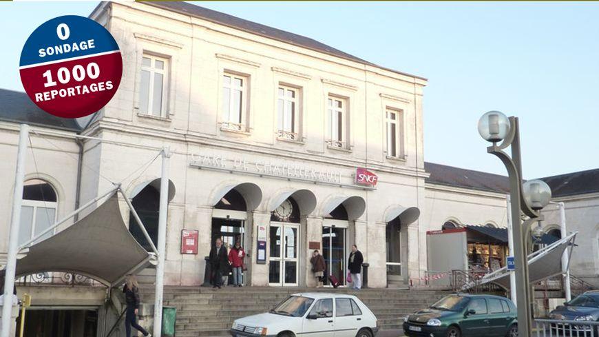 Les voyageurs à Châtellerault se sentent lésés depuis les travaux de la ligne à grande vitesse Paris-Bordeaux.