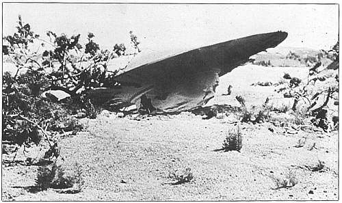 Reconstitution du crash de Roswell 1947