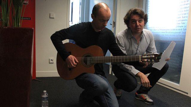 On n'a pas pu avoir Didier et Félix alors voilà Fred Barbelivien et Alex Grey