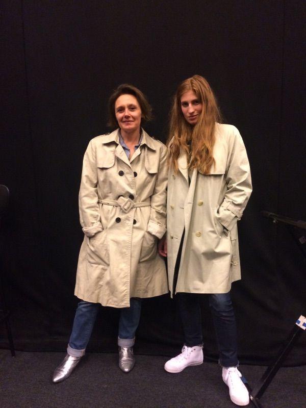 Laure Buisson & Agathe Bonitzer