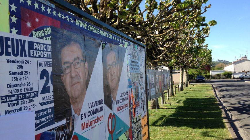 A Saint Léon-sur-l'Isle, les habitants ont voté à 34 % pour Jean-Luc Melenchon