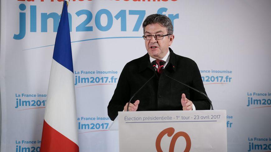 Jean-Luc Mélenchon au soir du 1er tour de la présidentielle ne donne pas de consignes de vote