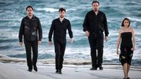 Le Quatuor Tana joue Gervasoni, Bartok, Bedrossian et Dupé, avec le comédien Pierre Baux