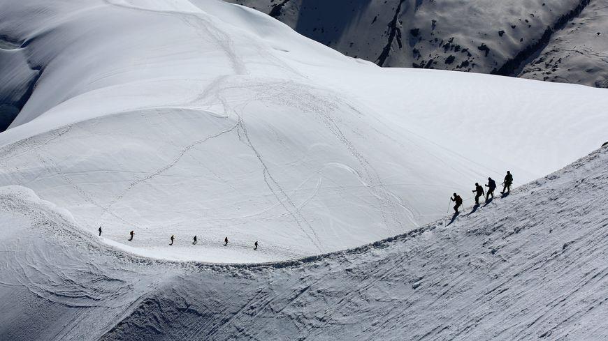 Sept morts et un disparu parmi les alpinistes qui se sont aventurés dans le Mont-Blanc depuis le début du mois