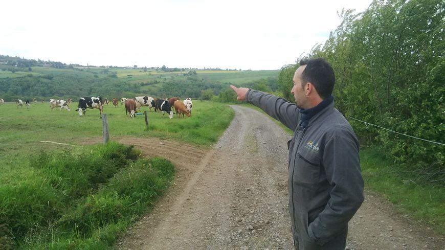 Laurent Brousset, du Groupement agricole d'exploitation en commun du Murier