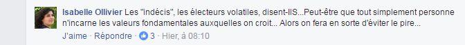 Sur la page Facebook de France Culture, l'incertitude face aux extrêmes