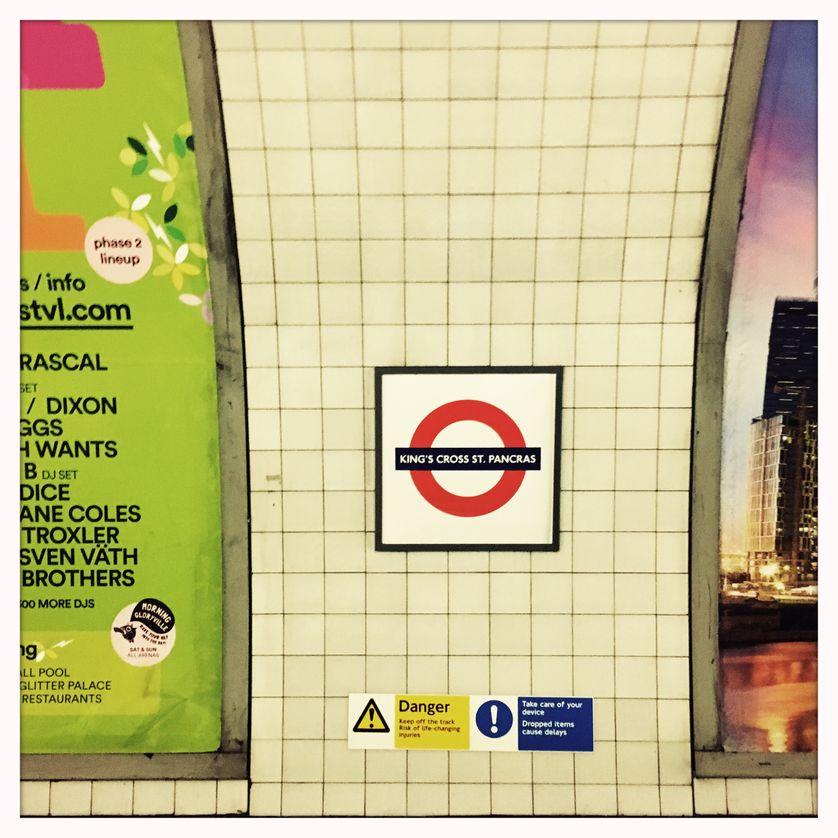 Station de métro King's Cross  à Londres