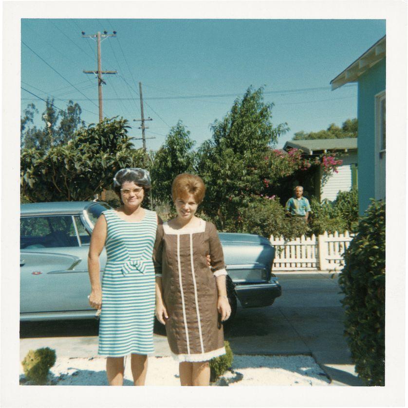 American dream, photographies anonymes réunies par Sylvie Meunier et Patrick Tournebœuf