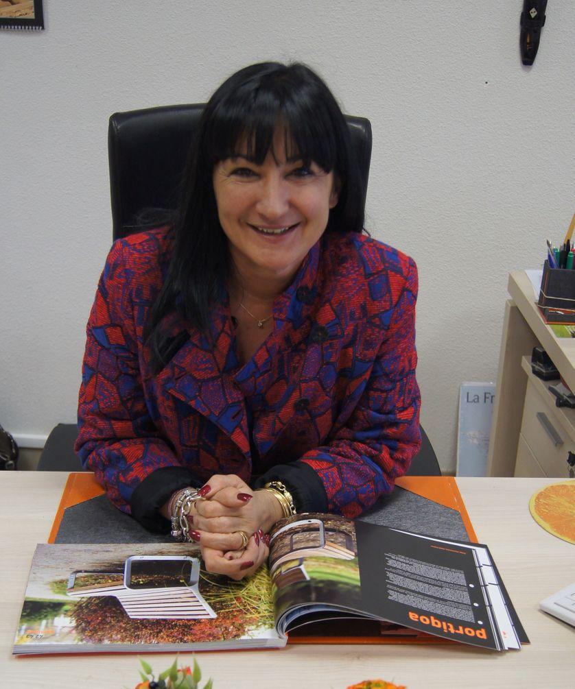 Véronique Poirot, cheffe d'entreprise dans la Loire